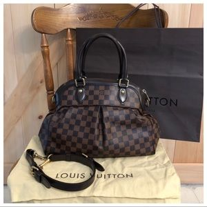 $$Flash Sale$$ Lv Damier Ebene Trevi Pm